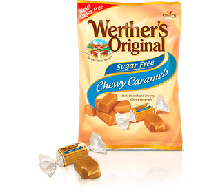 Werther's Original - Sugar Free Chewy Caramels - Original - 2.75 oz Bag - Low Carb Canada