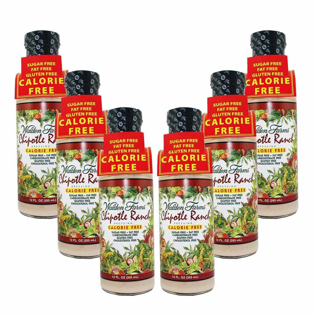 (Case of 6) Walden Farms - Dressing - Chipotle Ranch - 12 oz - Low Carb Canada