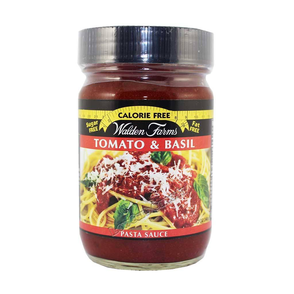 Walden Farms - Condiment - Tomato & Basil - 12 oz - Low Carb Canada