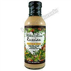Walden Farms - Dressing - Russian - 12 oz - Low Carb Canada