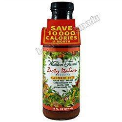 Walden Farms - Dressing - Zesty Italian - 12 oz - Low Carb Canada