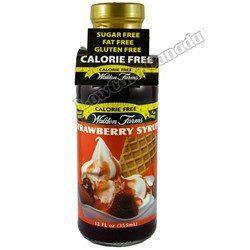 Walden Farms - Syrup - Strawberry - 12 oz - Low Carb Canada