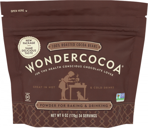 WonderCocoa Powder for Baking and Drinking - 6 oz