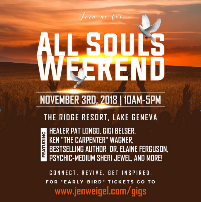 November 3, 2018: All Souls Weekend