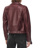 Benjamin Leather Moto Jacket
