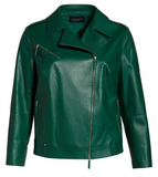 Bernice Leather Moto Jacket