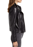 Chelsea Leather Moto Jacket