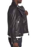 Fenton Leather Moto Jacket