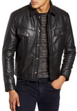 Frankie Leather Moto Jacket
