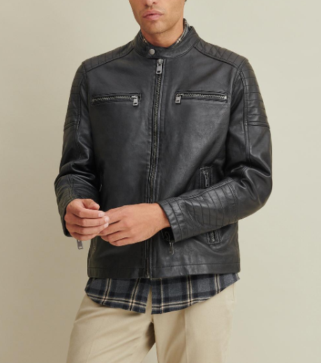 Garrett Moto Leather Jacket