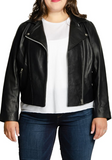 Long Lifetime Leather Moto Jacket