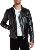 Men's Moto Leather Jacket