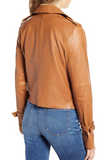 Rayven Leather Moto Jacket