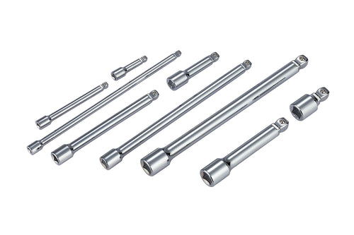 1/4, 3/8 and 1/2 in. Drive Wobble Extension Bar Set (9-Piece)
