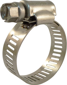 1/2 in. to 1-1/4 in. Stainless Steel Hose Clamps (25-Pack)