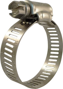 11/16 in. to 1-1/2 in. Stainless Steel Hose Clamps (25-Pack)