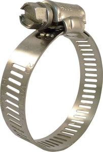 3/4 in. to 1-3/4 in. Stainless Steel Hose Clamps (25-Pack)
