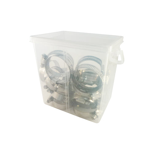 1 in. to 2 in. Stainless Steel Hose Clamps (25-Pack)