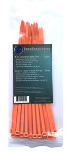 8 in Color Cable Ties
