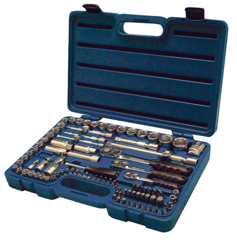 99pc 1/4, 3/8 & 1/2 DR Indo Socket Set