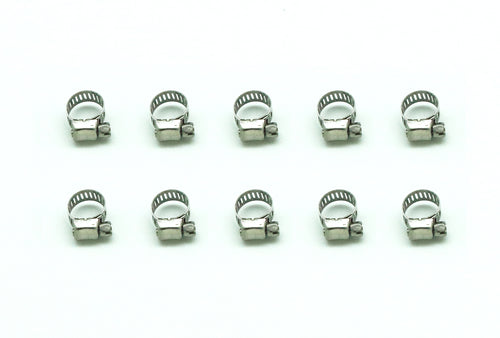 1/4 in. - 5/8 in. Stainless Steel Hose Clamps (10-Pack)