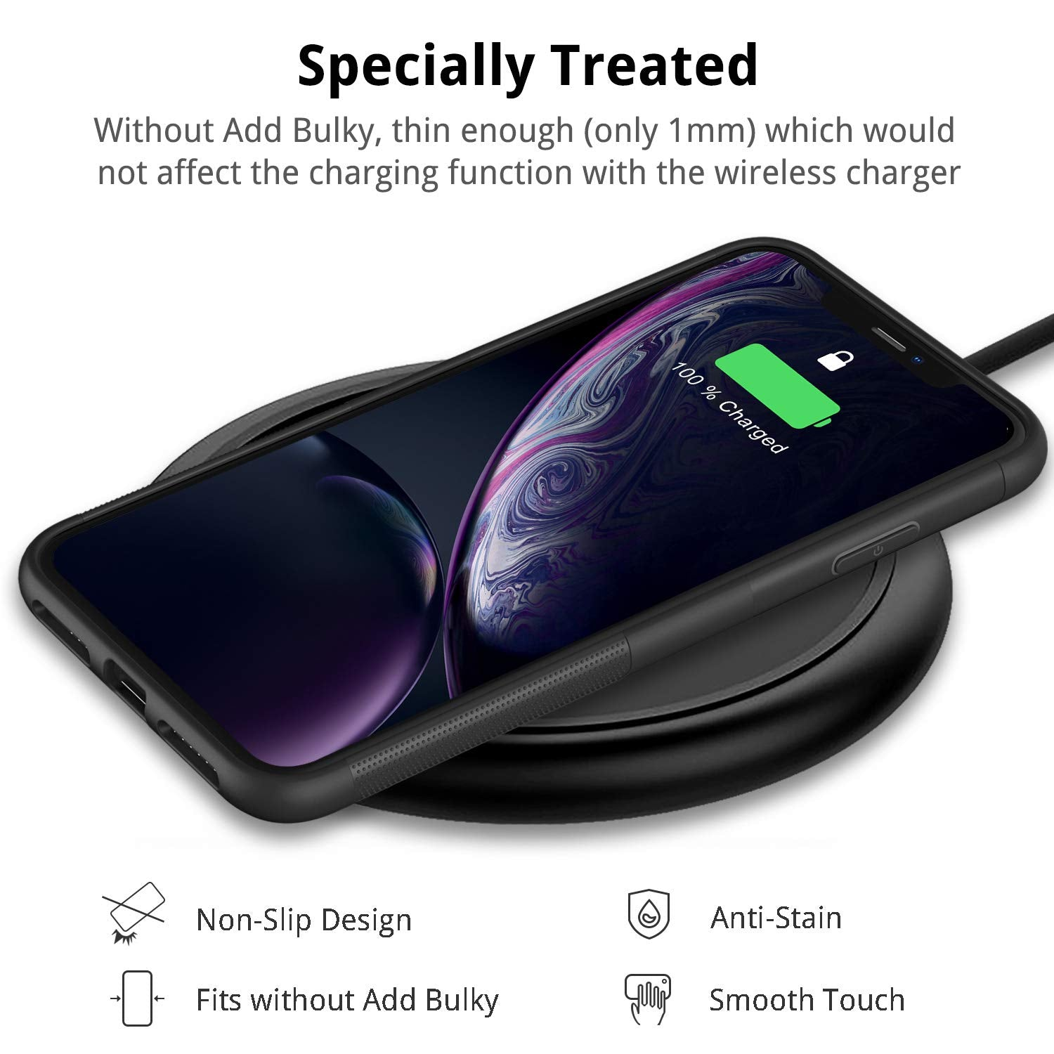 UNBREAKcable Cover iPhone XR - Custodia iPhone XR Ultra Sottile