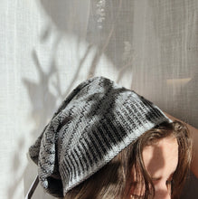 Load image into Gallery viewer, Striped Slouchy Beanie
