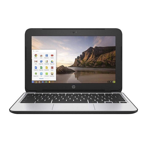 HP Chromebook 11 G3 Laptop (Intel N2840, 2GB Ram, 16GB SSD, HDMI) Refurbished