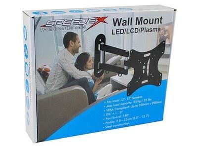 Speedex MA3260 Full Motion Tilt and Swivel Wall Mount for 17-Inch to 37-Inch LCD TV