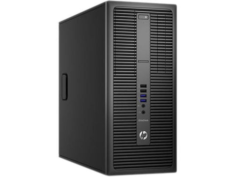 HP Refurbished EliteDesk 800 G2 Tower Desktop, Intel Core i7 6700, 500 + 128SSD , 16 GB DDR4, 90 days warranty  (Windows Operating System NOT INCLUDED )