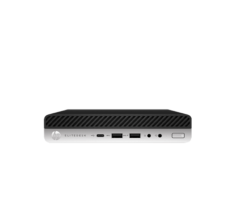 HP EliteDesk 800 G4 PC - Black, Silver Intel i5 8500 / 256GB SSD / 8GB RAM / Win 10 pro .1 year HP warranty