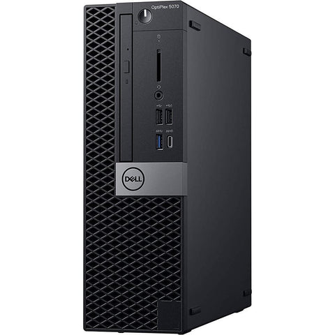 Dell OptiPlex 5070 SFF Desktop Intel Core i5-9500, 6 Core Processor, 8GB RAM , 512GB NVME SSD, Windows 10 Pro