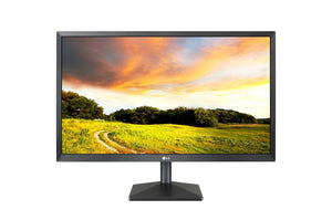 LG Electronics 24-Inch Screen LCD Monitor (24BK400H-B)- 1-Year Manufacturers Warranty- NEW
