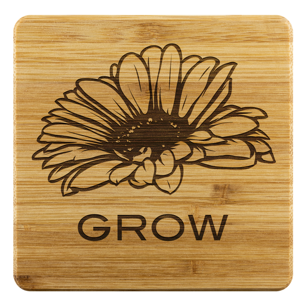 Grow - Bamboo Coasters