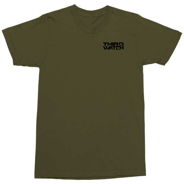 Third Watch [Black Coalition Design] - Mens Military Shirt