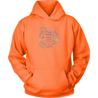Pray More Worry Less, Matthew 6:34 - Unisex Hoodie