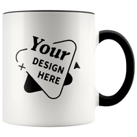 Your Design Here Accent Mug