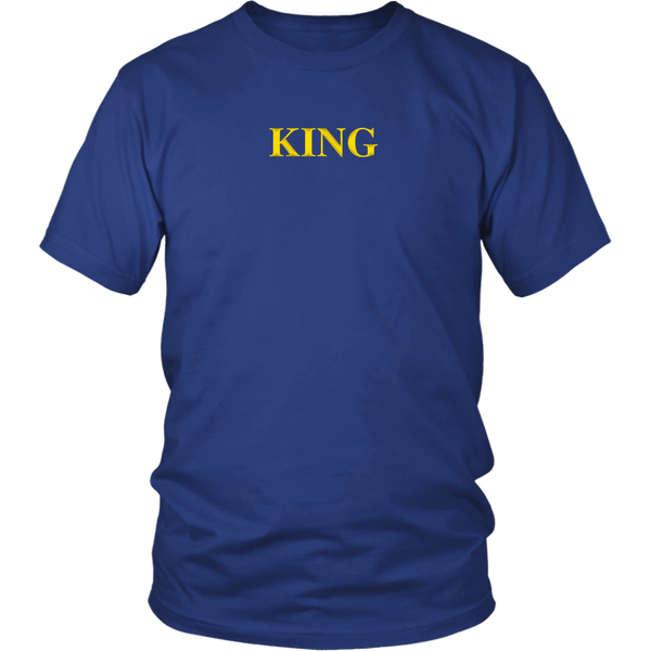 It's good to King [gold] - District Unisex Shirt