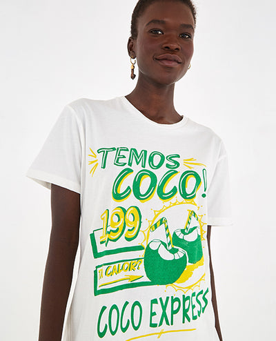 Coco Camiseta Blanca - Boho Hunter Europe