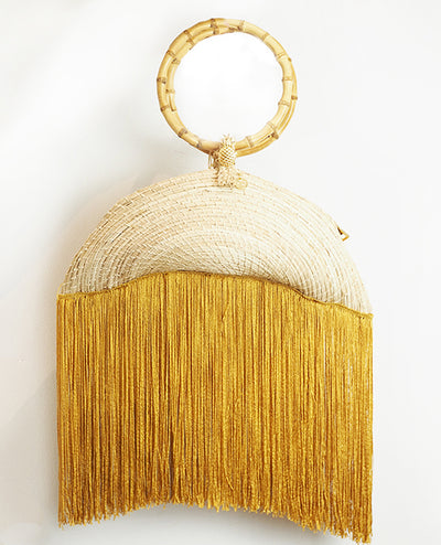 Palma Canaria Midnight Clutch - Boho Hunter Europe