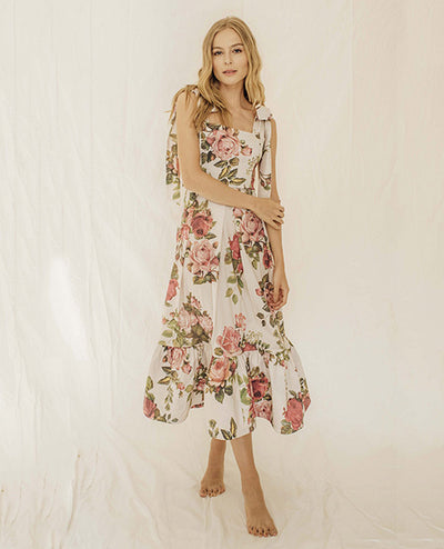 Azalea Vestido Midi - Boho Hunter Europe