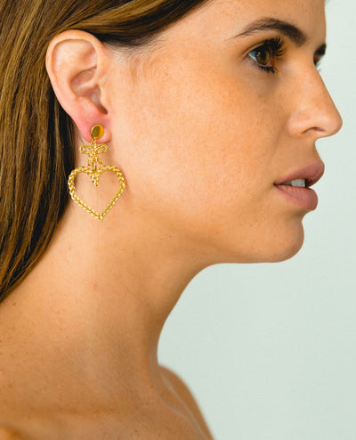 Mini Cindy Hoops Pendientes - Boho Hunter Europe
