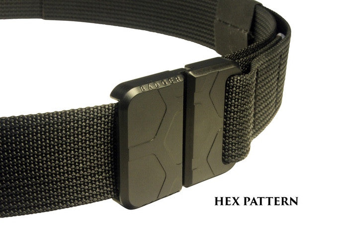 Badger Buckle - Hex Pattern