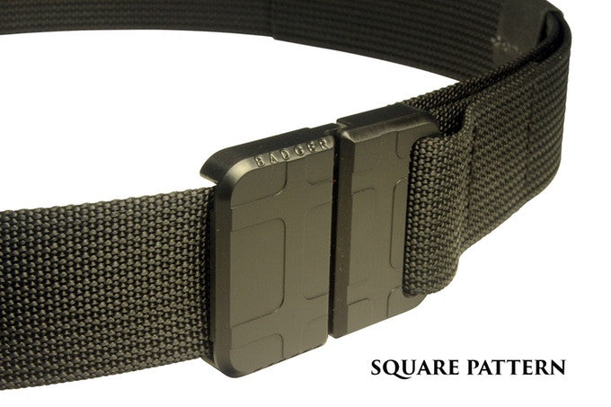 Badger Buckle - Square Pattern