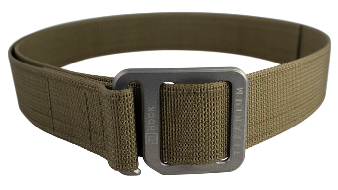 Ti Hook Titanium Belt