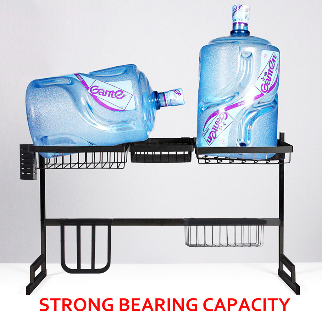 Over Sink Dish Drying Storage Rack