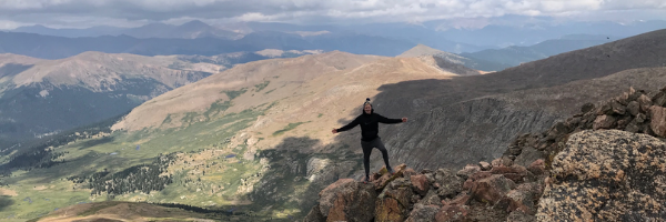 Virtual Hike to the top of Mount Bierstadt!