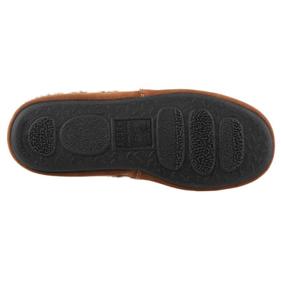 Acorn Moccasin Slipper Bottom Outsole View