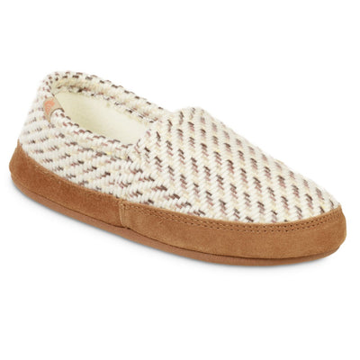 Women's Original Acorn Moccasins in Ewe Right Angled View