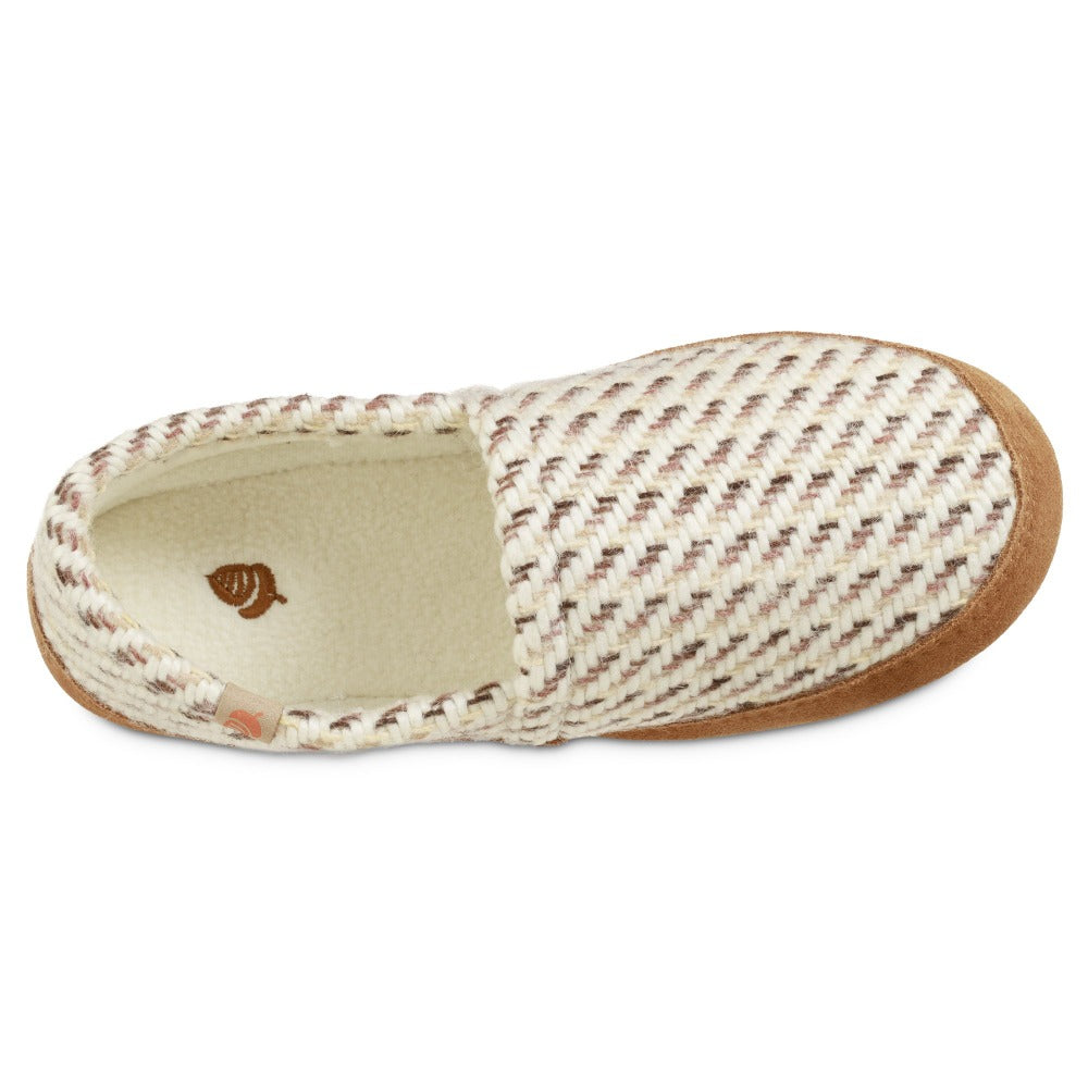 Women's Original Acorn Moccasins in Ewe Inside Top View